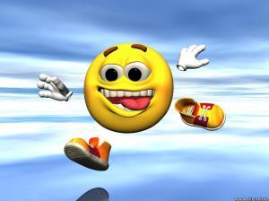 smiley-running